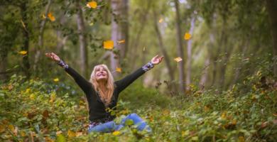 Ein Aufenthalt in der Natur tut in den Wechseljahren besonders gut