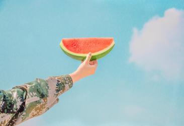 Wassermelone sorgt bei heißen Temperaturen für Erfrischung.