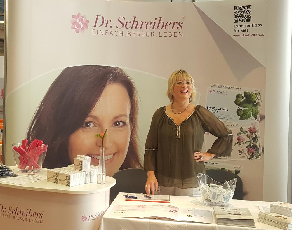 Frau Pfeiffer empfiehlt gerne die Produkte von Dr. Schreibers®