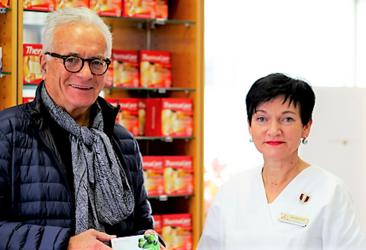 Dr. Schreiber und Apothekerin Mag. Mammerler setzten sich für Frauen in den Wechseljahren ein.