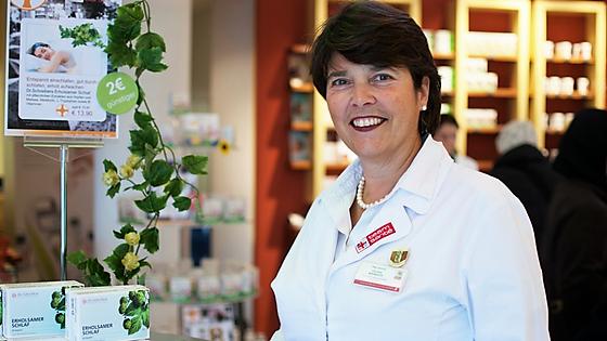 Apothekerin Mag. pharm. Wenkoff und ihr Team beraten Frauen in den Wechseljahren in der team santé paulus apotheke