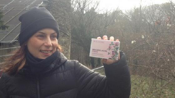 Klimawechselbotschafterin Inge genießt ohne Wechselbeschwerden