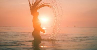 Sonne und Meer hinterlassen Spuren auf Haut und Haar