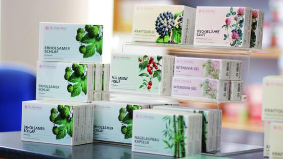 Die Produkte von Dr. Schreibers® helfen mit pflanzlichen Wirkstoffen
