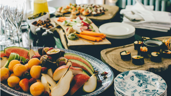 Ab dem Wechsel solltest du viel Obst, Gemüse und Fisch essen