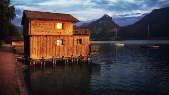 Beruhige deinen Geist bei einem Spaziergang am Wolfgangsee